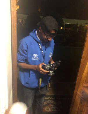 Quick photo of the official ARM Zimbabwe Photographer - Tinashe! He is so cool headed :)