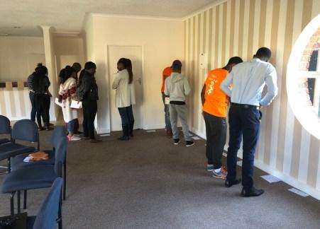 SCORP + SCOPH Participants doing the mental health quiz