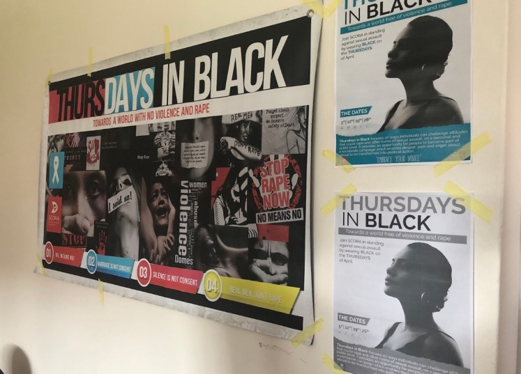 The 'Thursdays in Black' activity the Malawian Medical Students have been doing that has gotten a lot of national attention!