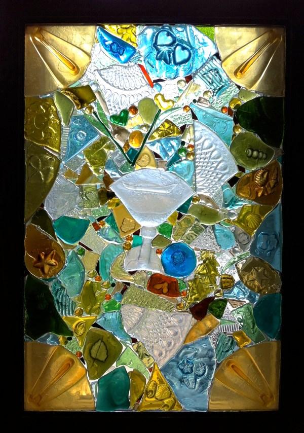 Broken Glass Mosaic Window
