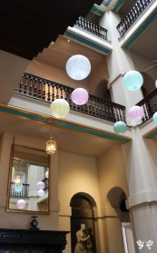 Paper lanterns at Kings Weston House- Elizabeth Weddings