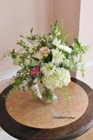 Vanbrugh at Kings Weston House, flowers by Megan Lily Flowers