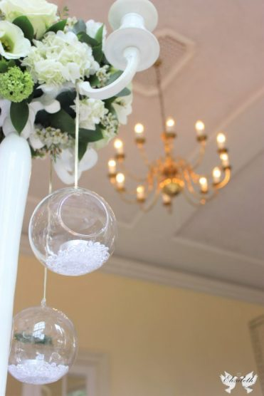 Centrepiece at Goldney Hall- Elizabeth Weddings