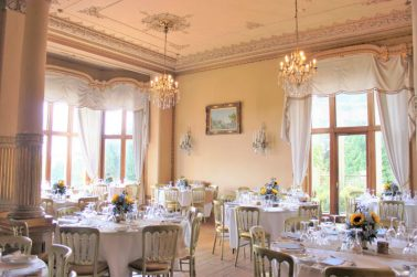 Orchardleigh House Wedding Breakfast- Elizabeth Weddings