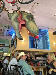 dinosaur in lodi