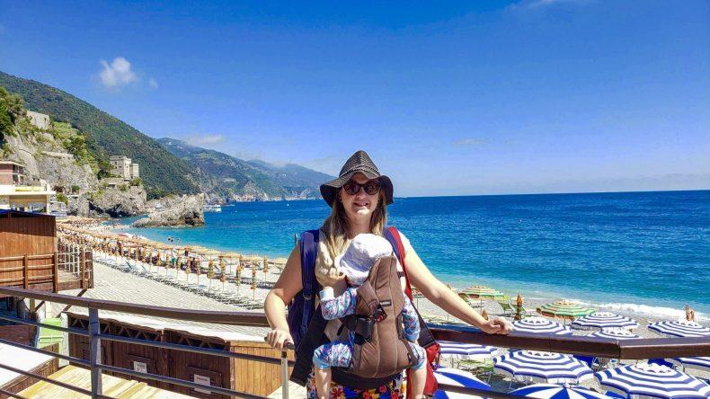 Praia em Cinque Terre