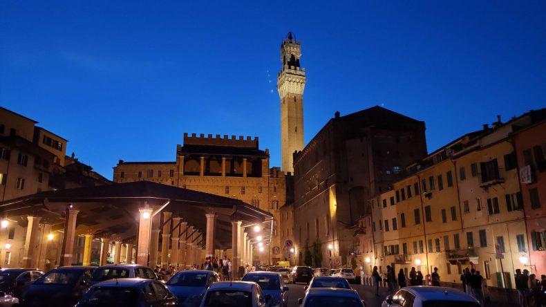 Siena à noite