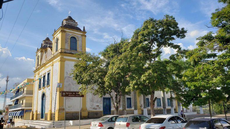 Igreja do Rosário no centrinho Histórico de Cunha
