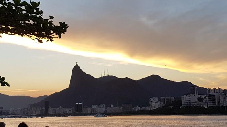 Vista da Mureta da Urca. Rio de Janeiro.