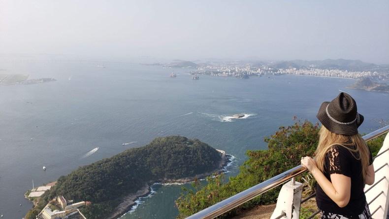 Depois diminuiu a neblina. Rio de Janeiro