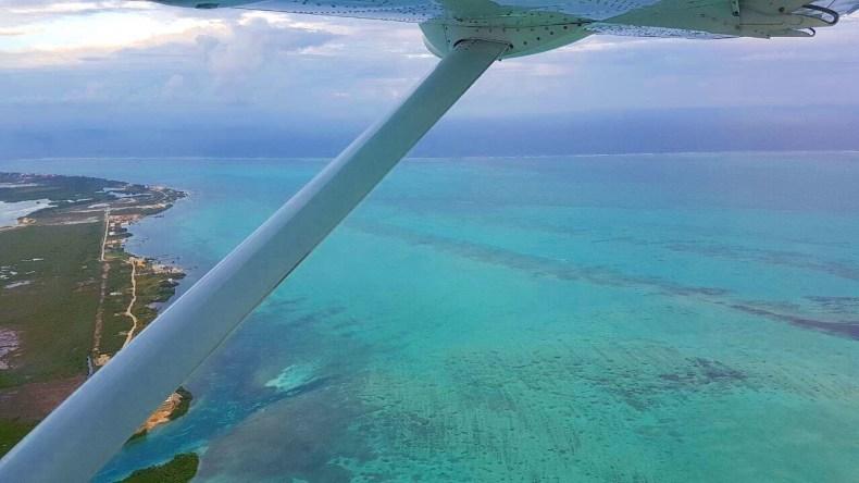 No Teco Teco, avistando o mar do Caribe. Babymoon