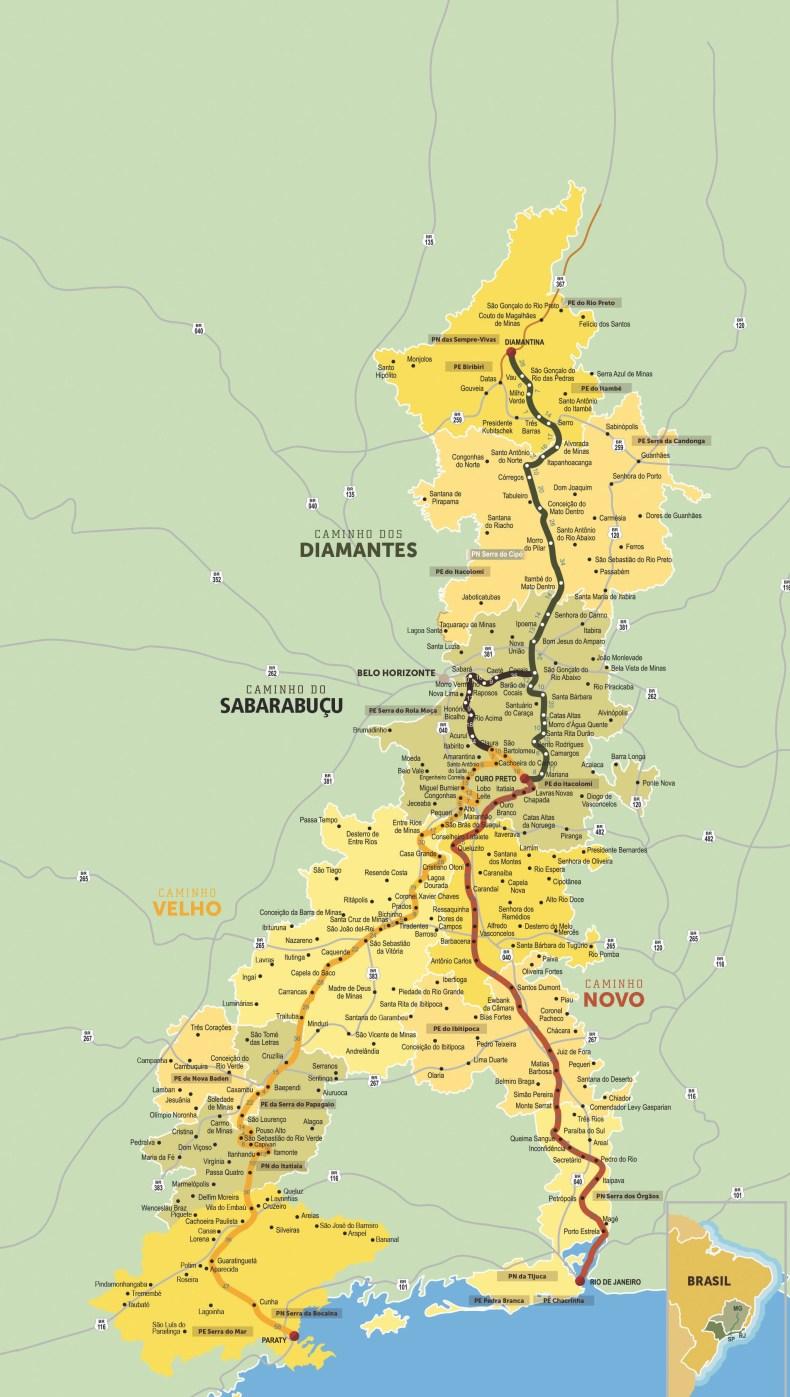 Paraty: Mapa da Estrada Real. enfim enquanto então entretanto eventualmente igualmente inegavelmente inesperadamente mas outrossim pois porquanto porque portanto posteriormente precipuamente primeiramente primordialmente principalmente salvo semelhantemente similarmente