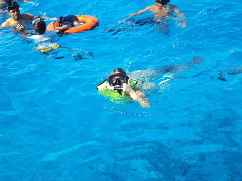 snorkeling na Riviera Maya