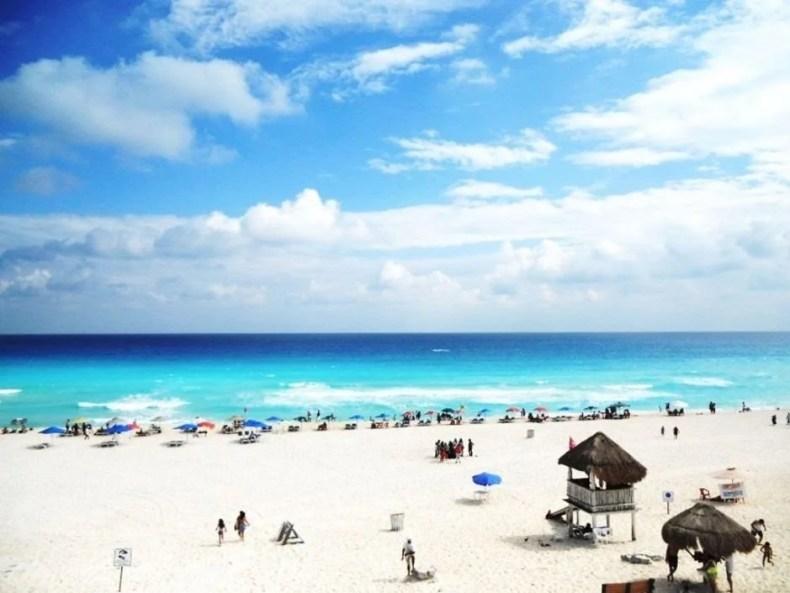 Playa Delfines em Cancún, Riviera Maya