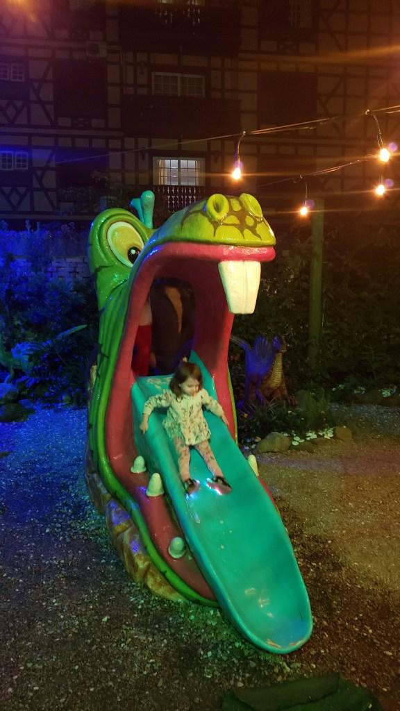 Espaço kids gratuito na Fantástica Casa de Chocolates Florybal.
