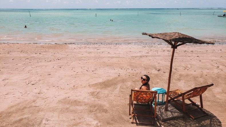 Praia do Toque em São Miguel dos Milagres, Alagoas