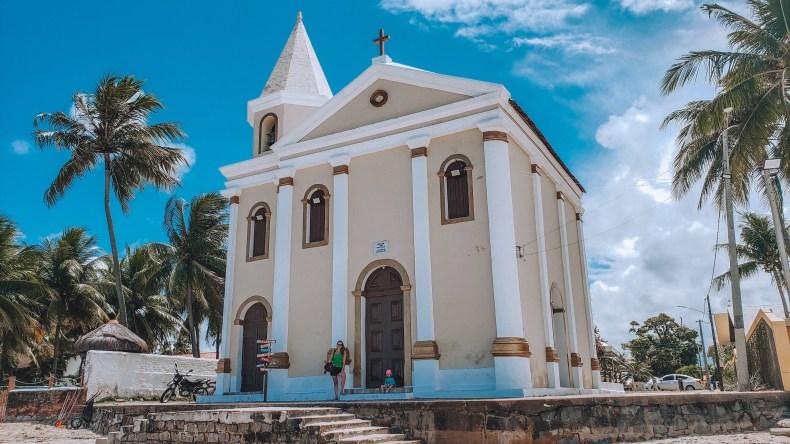 Igreja Velha de São Pedro na Praia de Campas, Tamandaré, Pernambuco