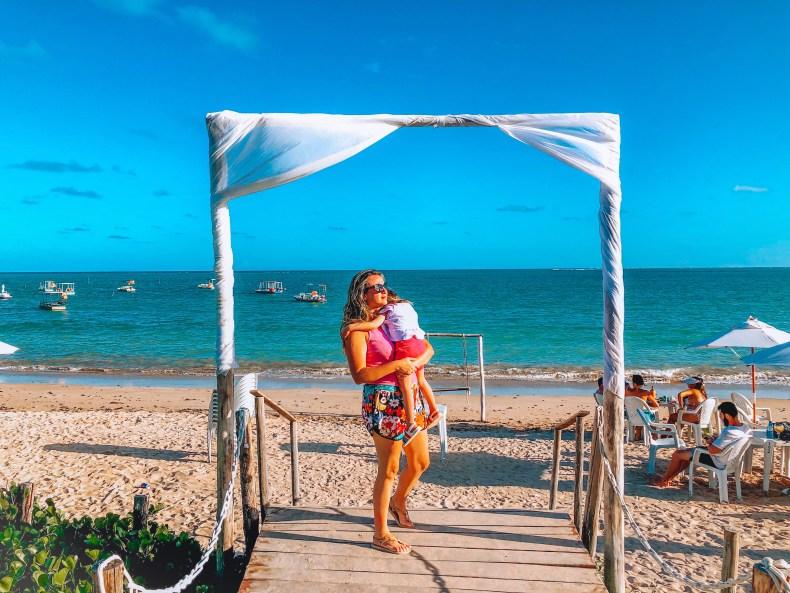 Praia de Lages em Porto de Pedras, Rota Ecológica, Alagoas