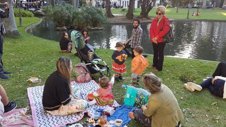 Quando no meio do piquenique tem uma festa junina. Fofuras em um dos melhores parques e  lugares para piquenique no Rio de janeiro, Jardins do Palácio do Catete, Museu da Republica