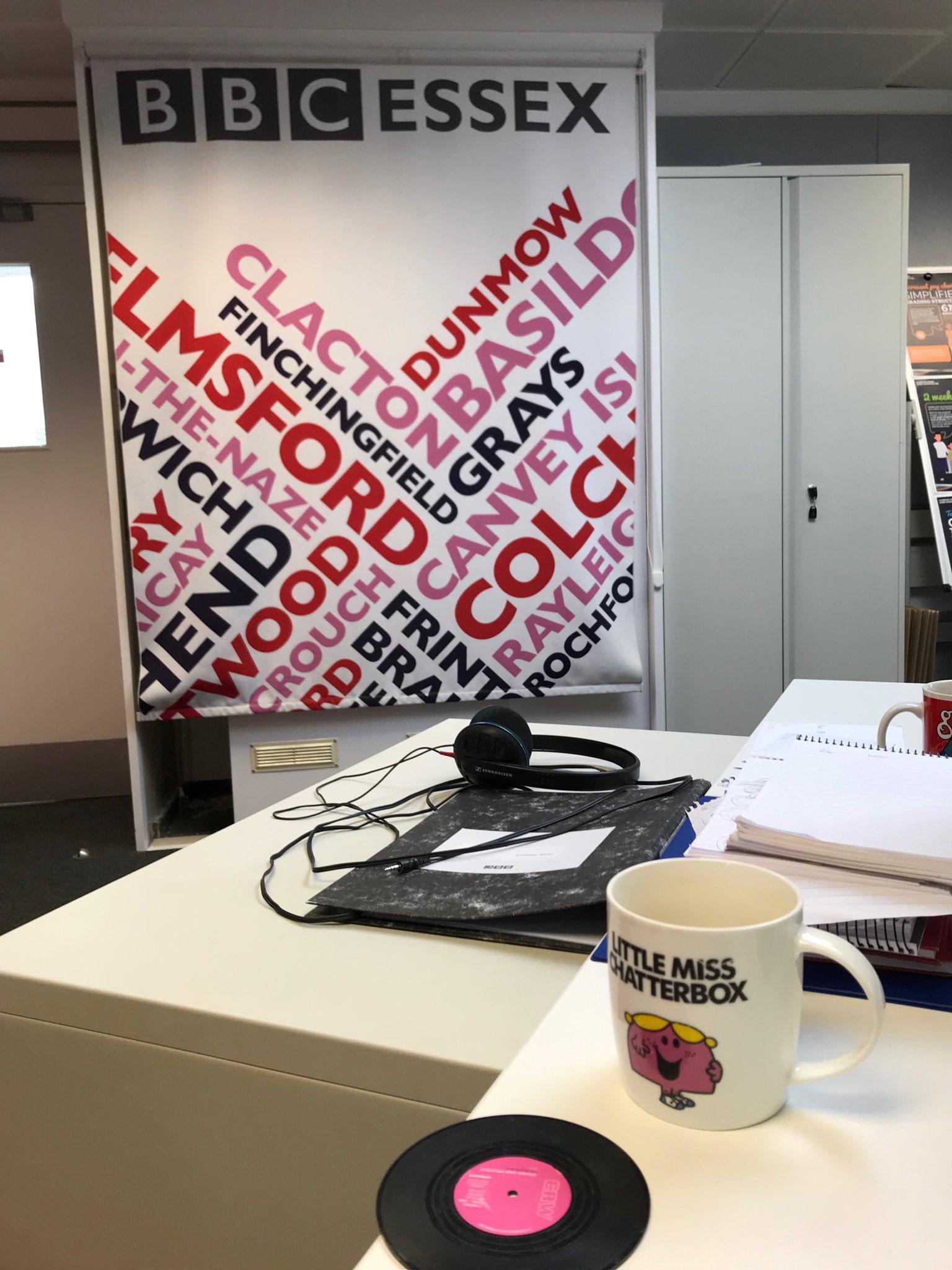 BBC Essex headphones