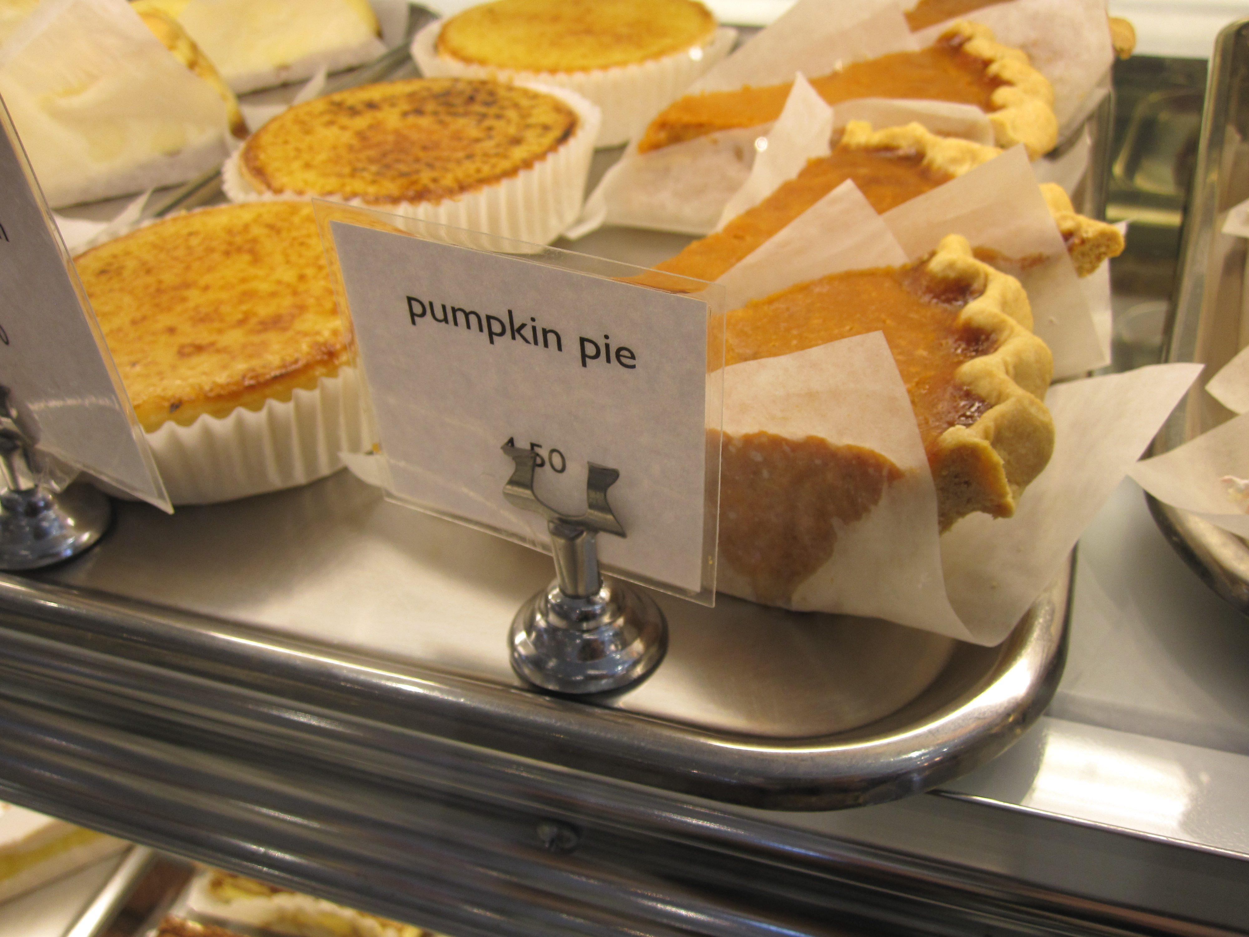 Pumpkin pie..my fave
