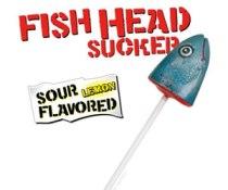 Best Halloween Treats - Fishhead Lollipop