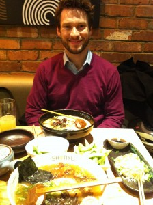 Tom Gash at Shoryu Ramen