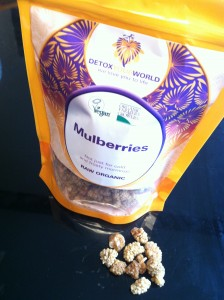 Dried mulberries from Detox Your World
