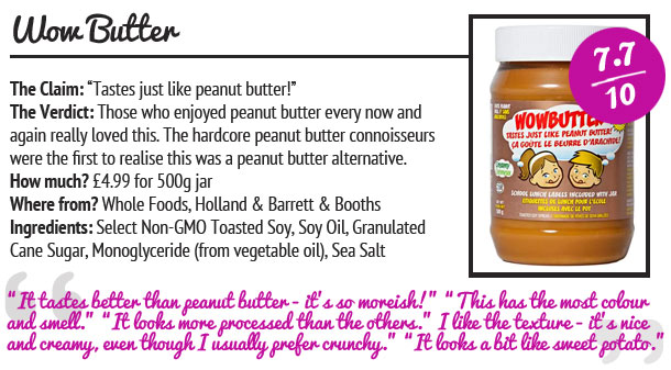 WOWBUTTER peanut butter review
