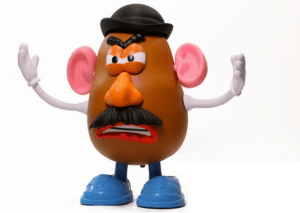 Evil Mr Potato Head