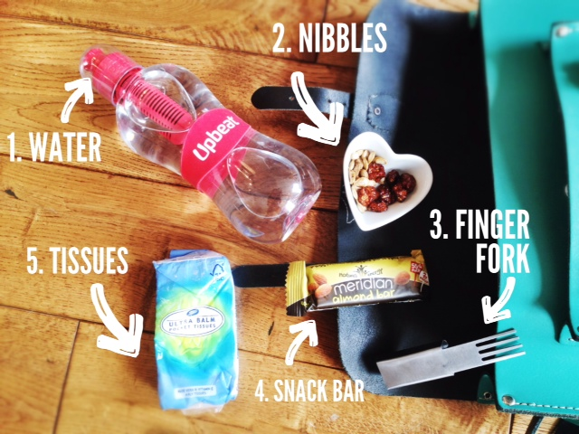 A Hungry Girl's Handbag Essentials