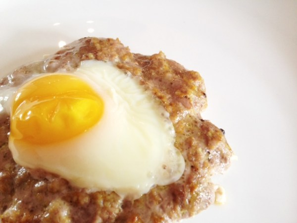 Egg Burgers - new things to do with eggs