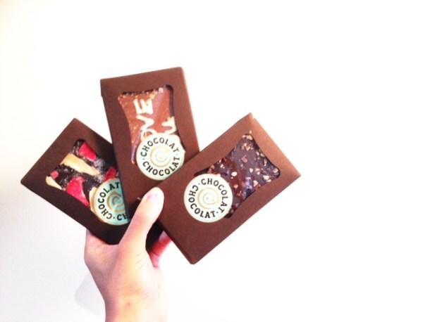 Chocolat Chocolat custom bars review