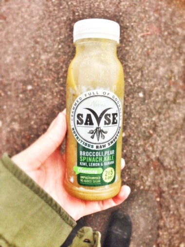 SaVse Smoothies review - super green