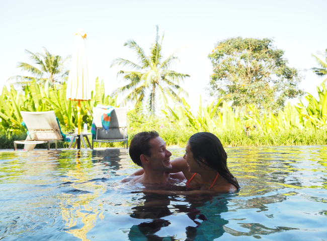 Chapung Se Bali honeymoon