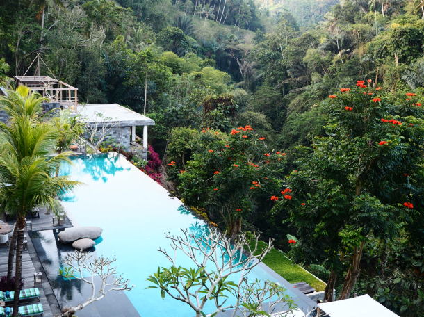 The main pool at Chapung Se Bali