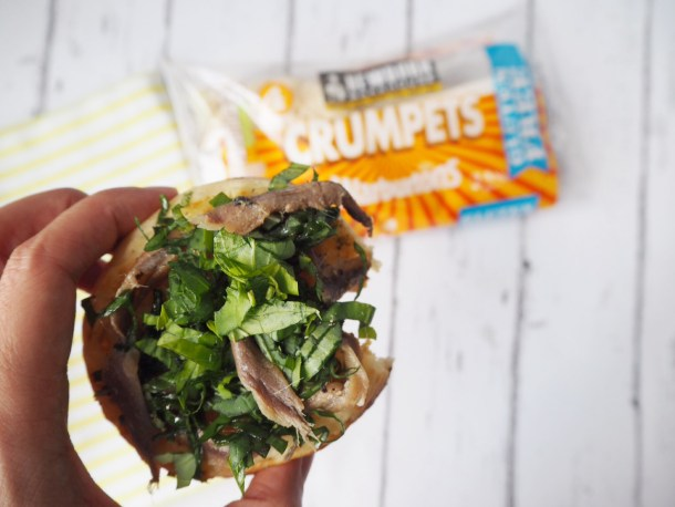 crumpet topping