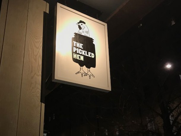 The pickled hen marylebone review