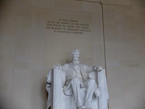 Good ol' Abe... Lincoln Memorial