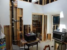 Second floor plumbing.