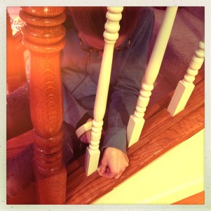 All those spindles! Yikes!