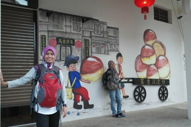Street art, Penang..