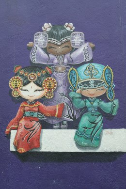 ~Street art, Penang..cultural girls..