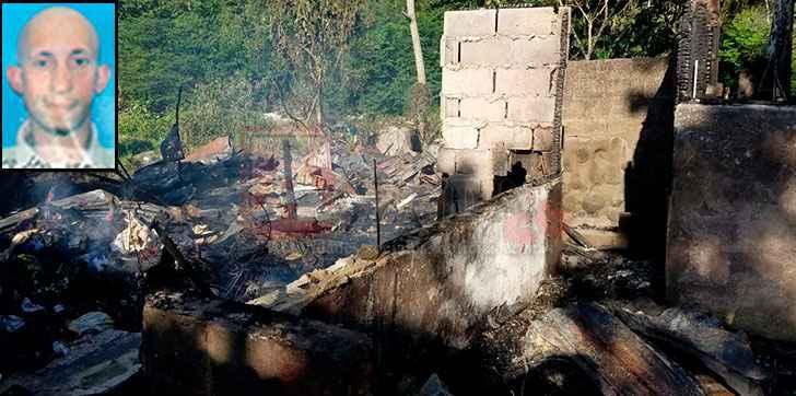 Image result for Muere hombre calcinado en un fuego que afectó diez viviendas en Jarabacoa