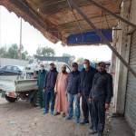 El Jadida : Enfin une opération de désinfection du marché de gros… qui s'imposait