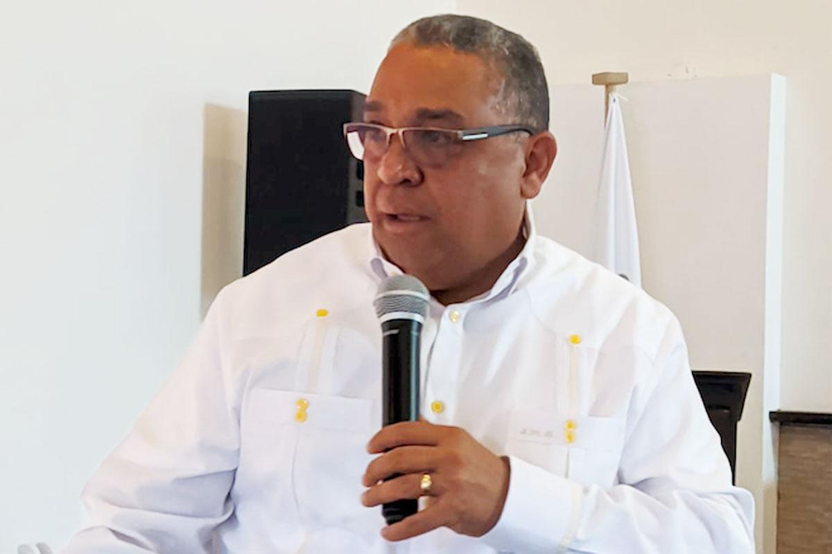 Expositor José Miguel Ortiz.