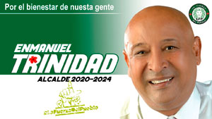 Enmanuel Trinidad, Alcalde, La Fuerza del Pueblo, LFP