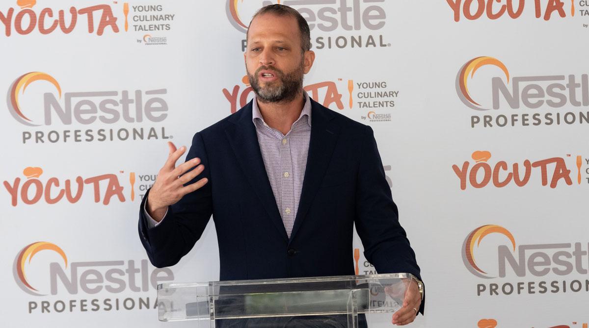 Daniel Peña, Ejecutivo de Negocios Nestlé Professional