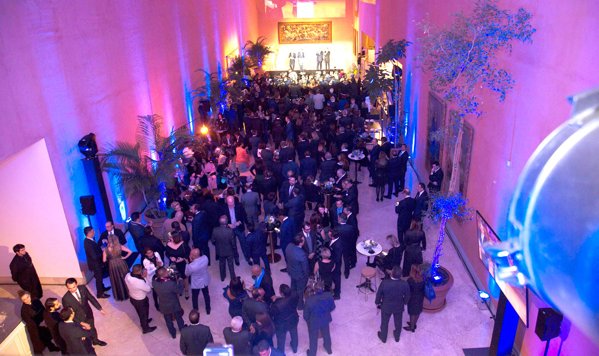 Más de 400 invitados se dieron cita en el cóctel institucional realizado en el Thyssen Bornemisza, en Madrid, con motivo de la 40ma. versión de la feria internacional de turismo FITUR.