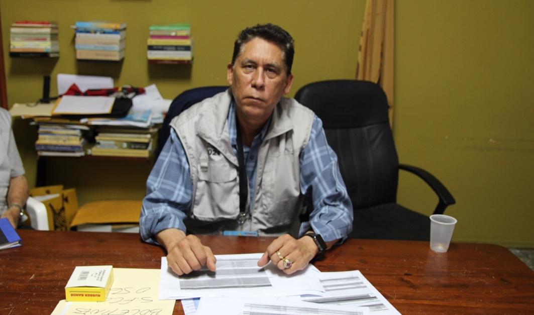 El presidente de la Junta Municipal Electoral, doctor Martin Ortega Then